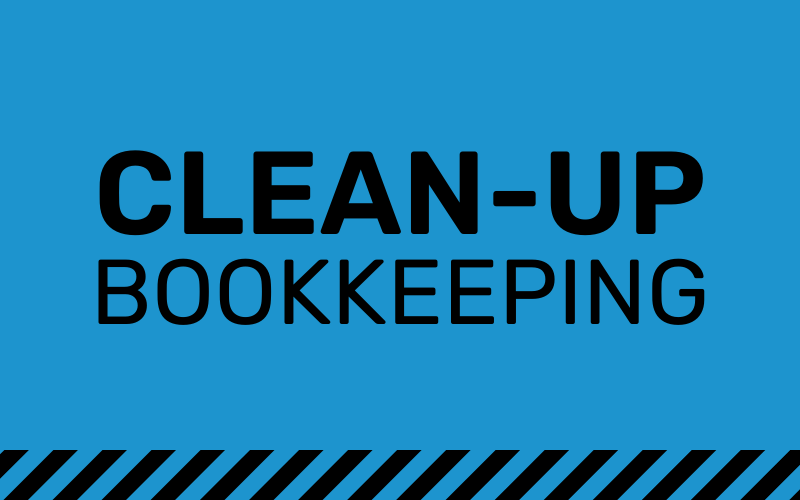 clean-up bookkeeping